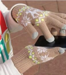 Рекламный текст: сенсорные перчатки